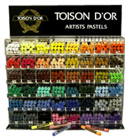 Toison D'or artists pastels